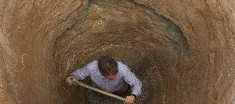 حفر چاه شهرک غرب